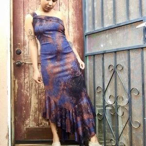 Dresses & Skirts - Sparkling One Shoulder Evening Dress